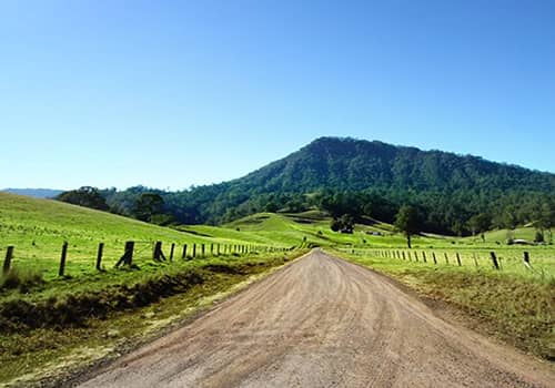 Driving routes around Kyogle
